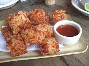Receita de Dadinhos de tapioca com queijo coalho