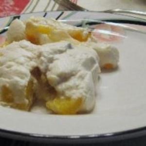 Receita de Delícia de abacaxi com chantilly