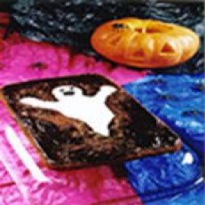 Receita de Dia das bruxas: Bolo Fantasminha