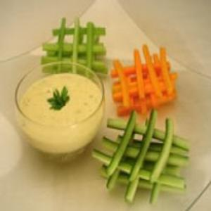 Receita de Dips de Legumes