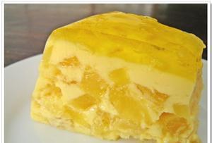 Receita de Doce com gelatina de abacaxi