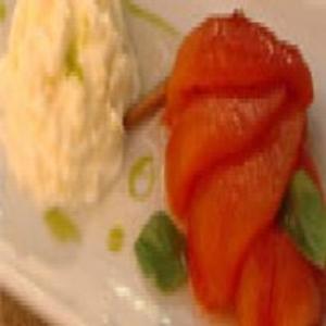 Receita de Doce de Tomate com Espuma de Mascarpone e Baunilha