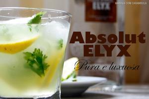 Receita de Drink com Limão Siciliano