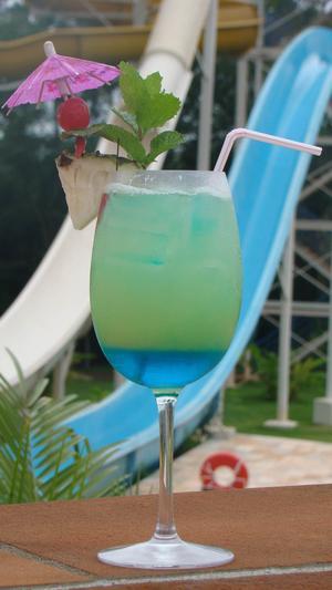 Receita de Drink de Verão Atlantis