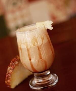 Receita de Drinque de Café com Abacaxi