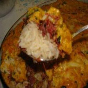 Receita de Escondidinho de Carne Seca com Abóbora