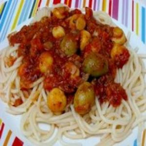 Receita de Espaguete à Pavarotti