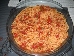 Receita de Espaguete ao Meu Modo