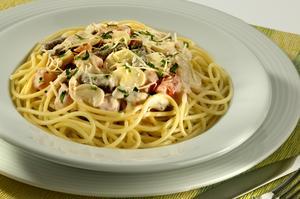 Receita de Espaguete ao Molho de Estrogonofe
