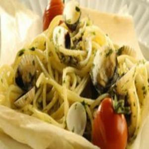 Receita de Espaguete ao Vôngole
