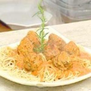 Receita de Espaguete com Almôndegas