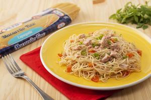 Receita de Espaguete com Atum