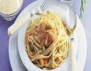 Espaguete com Mamão
