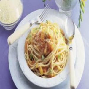 Receita de Espaguete com Mamão
