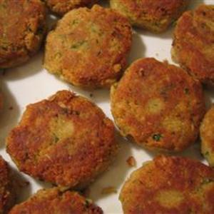 Receita de Falafel (hambúrger vegetariano de grão-de-bico)