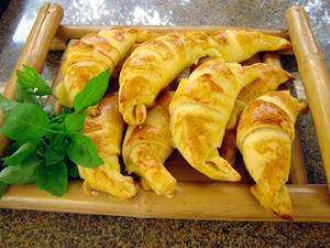 Receita de Falsos croissants