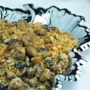 Receita de Farofa de castanha portuguesa