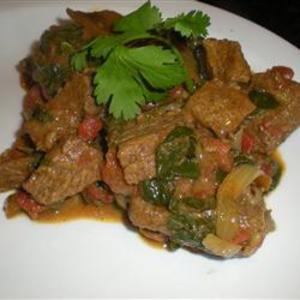 Receita de Filé com espinafre ao curry