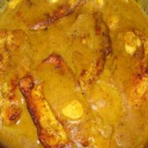 Receita de Filé de Frango ao Curry