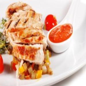 Receita de Filé de frango cozido no microondas