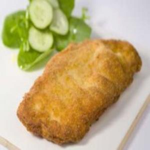 Receita de Filé de frango temperado com leite e empanado