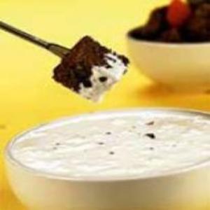 Receita de Fondue de marshmallow