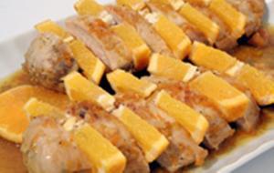 Receita de Frango ao molho de laranja e manga