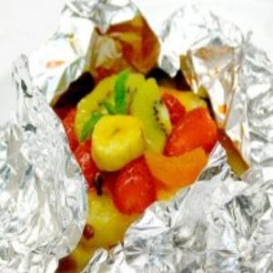 Receita de Frutas no vapor com calda de maracujá light