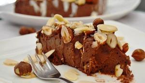Receita de Gelado de Chocolate com Avelã e Nozes