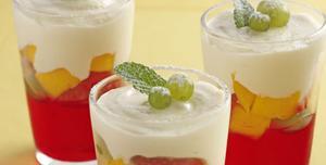 Receita de Gelado de leite condensado com gelatina