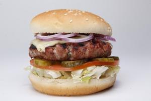 Receita de Hambúrguer caseiro Pepper Jack
