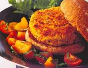 Hambúrguer de Feijão Branco (vegana)