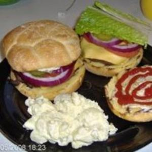 Receita de Hambúrguer de carne de veado e bacon