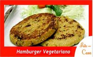 Receita de Hambúrguer de Legumes (vegana)