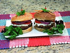 Receita de Hambúrguer Gourmet