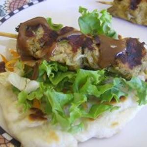 Receita de Kebabs de frango ao estilo indiano