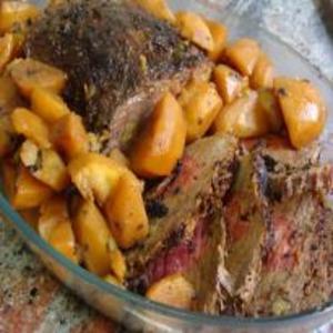 Receita de Lagarto com Batatas
