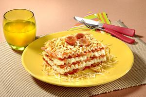 Receita de Lasanha Hot Dog