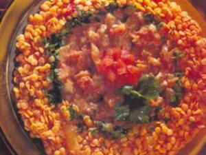 Receita de Lentilhas ao Curry