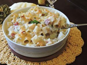 Receita de Macarrão de Forno com Burrata