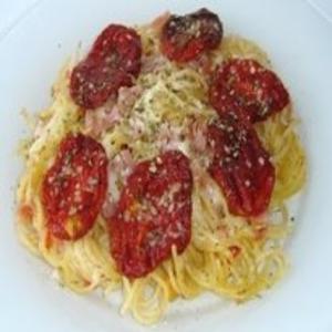 Receita de Macarrão de forno com tomate seco