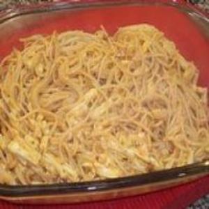 Receita de Macarronada de strogonoff de queijo