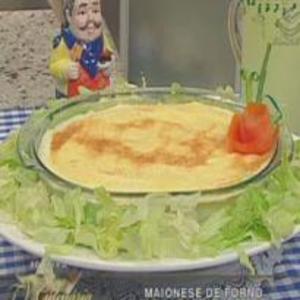 Receita de Maionese de forno