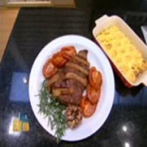 Receita de Maminha ao Forno com Bacon e Tomate e Nhoque à Romana