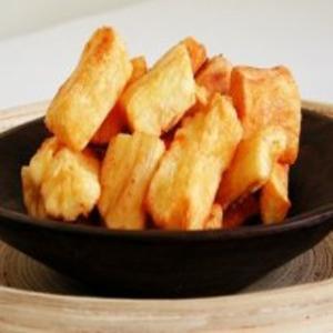 Receita de Mandioca frita