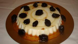 Receita de Manjar Branco com Calda de Ameixa