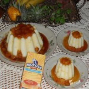 Receita de Manjar com caramelo de banana