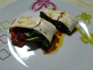 Receita de Manta de Mussarela de Búfala com Rúcula e Tomates Secos