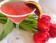 Martini de cranberry
