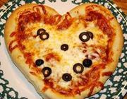 Massa de pizza na máquina de pão